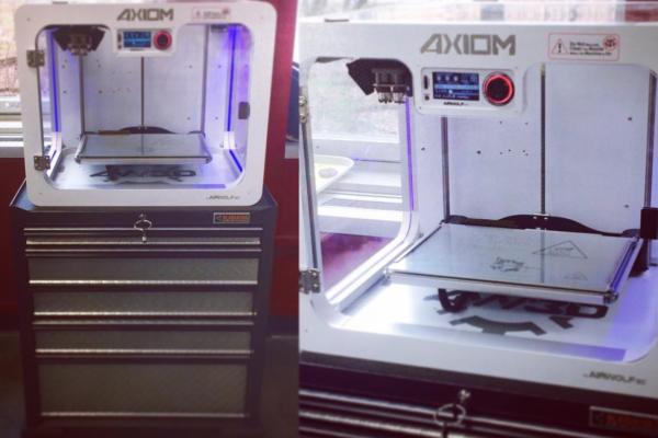 Our air wolf 3D printer